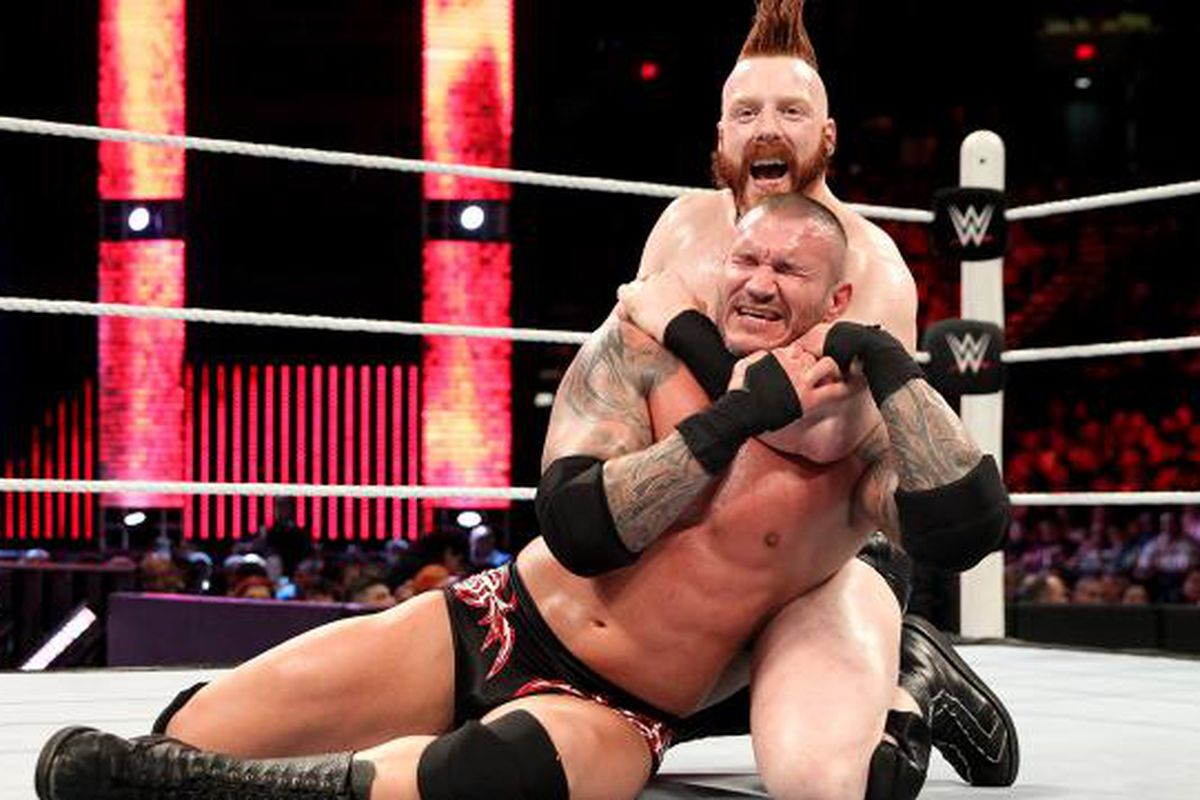 Image result for Battleground 2015 Sheamus vs Randy Orton