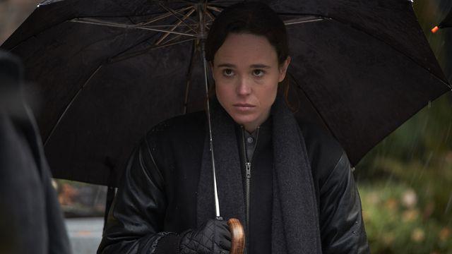Ellen Page as Vanya in <em>The Umbrella Academy</em>.