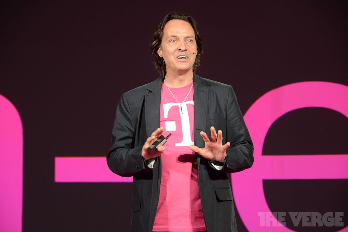 T-Mobile CEO John Legere super excited