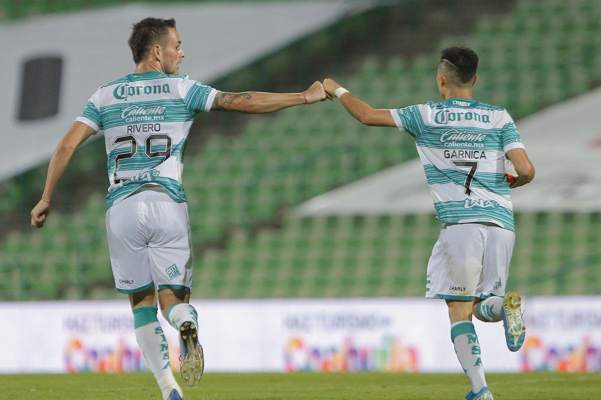 Santos Laguna v Pumas UNAM - Torneo Guard1anes 2020 Liga MX