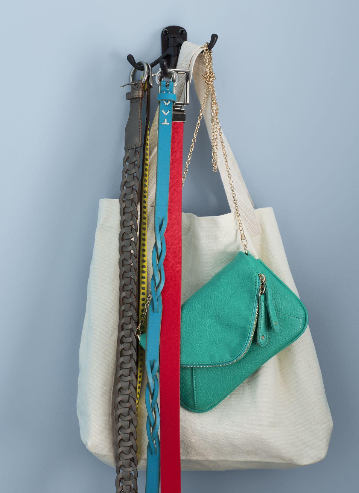 Three-Way Hook to help redo your bedroom closet