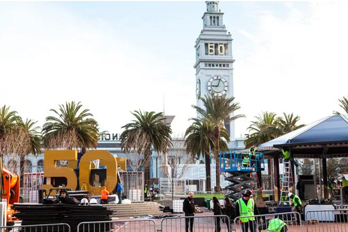 As Super Bowl City went up, so did costs and questions.