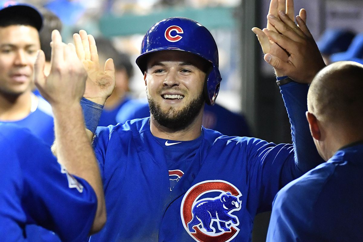 low cost e58ff 67c87 The Cubs shouldn't trade David Bote - Bleed Cubbie Blue