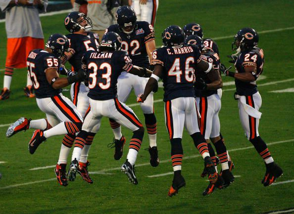 Chicago Bears defense, Super Bowl XLI