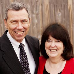 President Norman C. Hill and his wife, Sister Raelene B. Hill, prior to the start of their service in the Ghana Accra West Mission in July 2013. Sister Hill died Sunday of a medical condition.