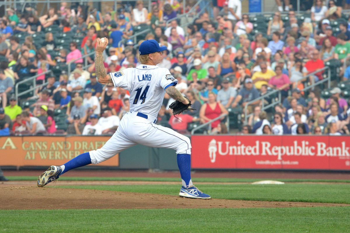John Lamb dominated on Wednesday, with 11 Ks in 7 innings.