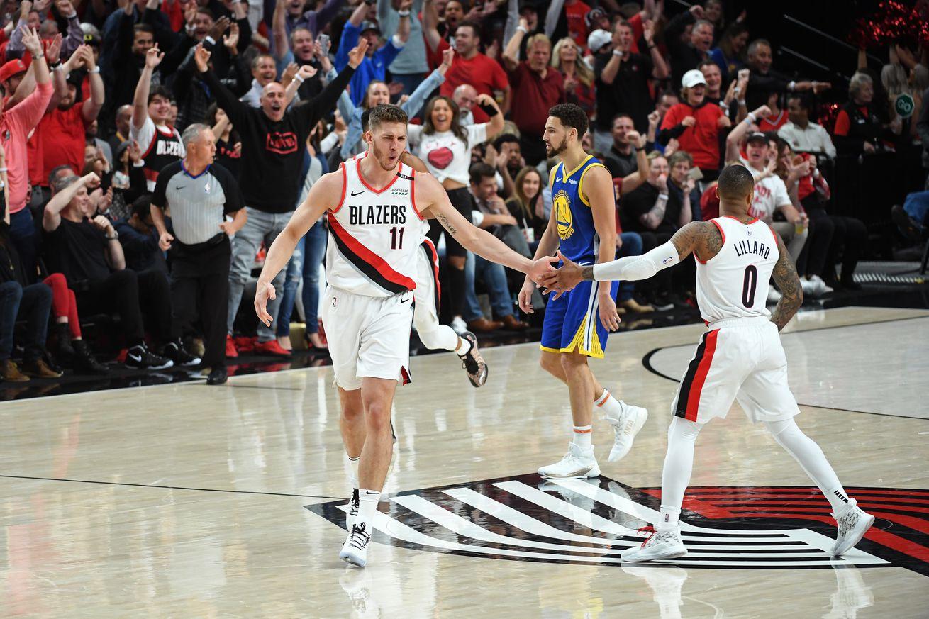 Meyers Leonard Says Goodbye