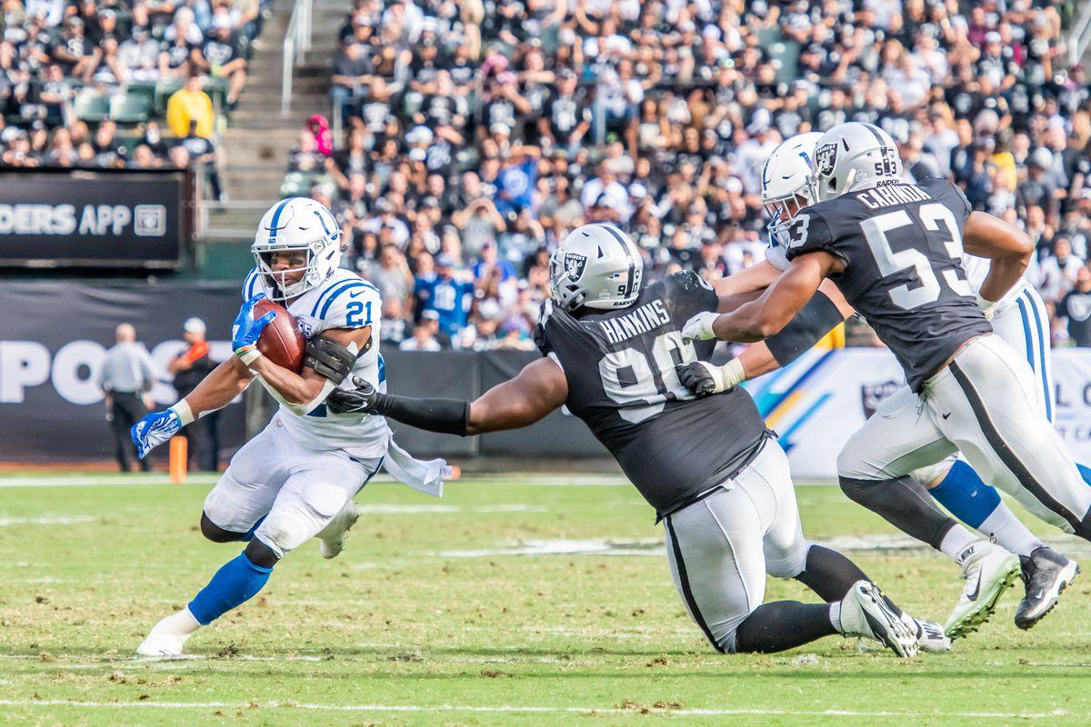 NFL: OCT 28 Colts at Raiders