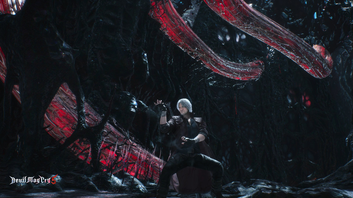 Devil May Cry 5 Dante Royal Guard Style