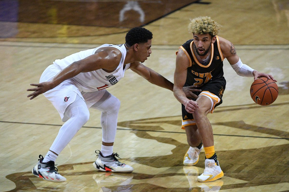 NCAA Basketball: Mountain West Conference Tournament- San Diego State vs Wyoming