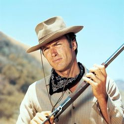 """Clint Eastwood stars as Rowdy Yates in his first shot at stardom, the 1960s TV series """"Rawhide."""""""
