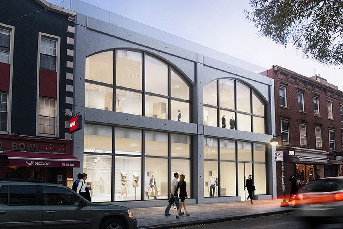 """184-186 Bedford Avenue. Photo: <a href=""""http://meshberggroup.com/project/bedford-ave-retail/"""">Meshberg Group</a>"""