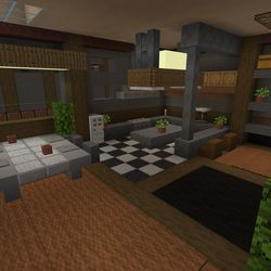 """The """"Color, Light & Shadow"""" world in the <em>Minecraft</em> with RTX beta — ray tracing disabled"""