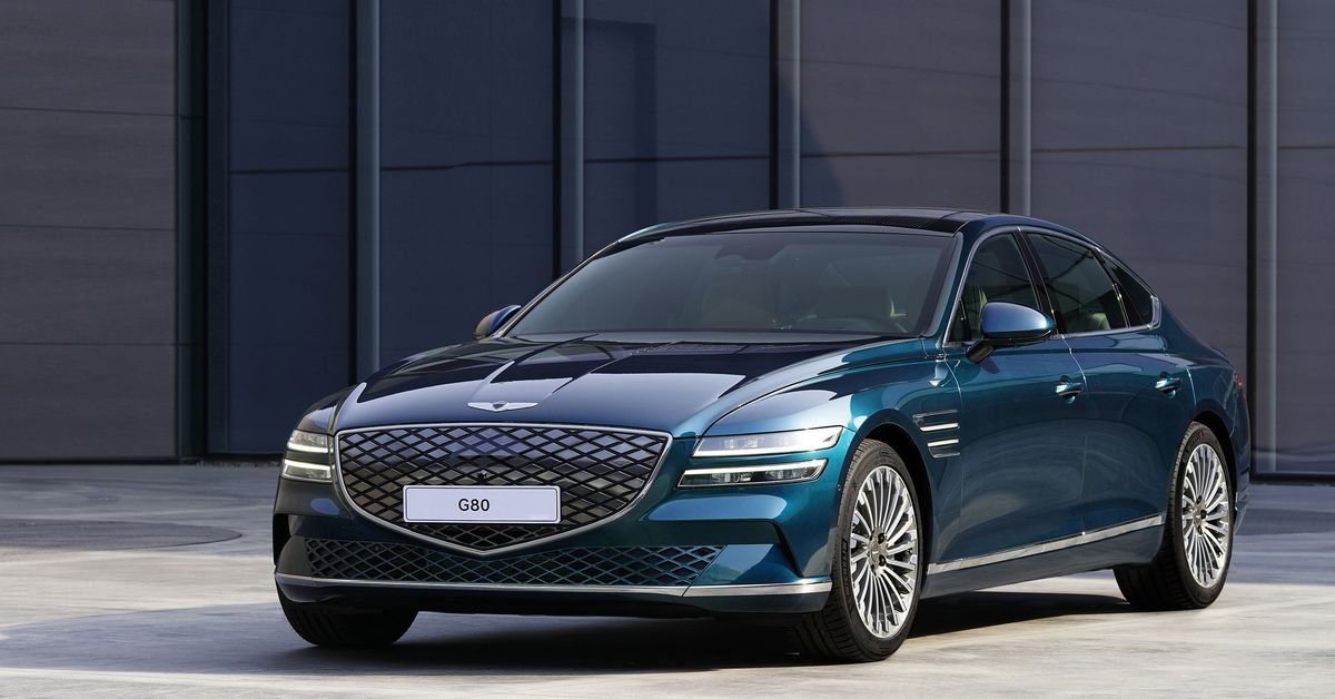 Genesis' first electric car is way less exciting than its concept EVs thumbnail