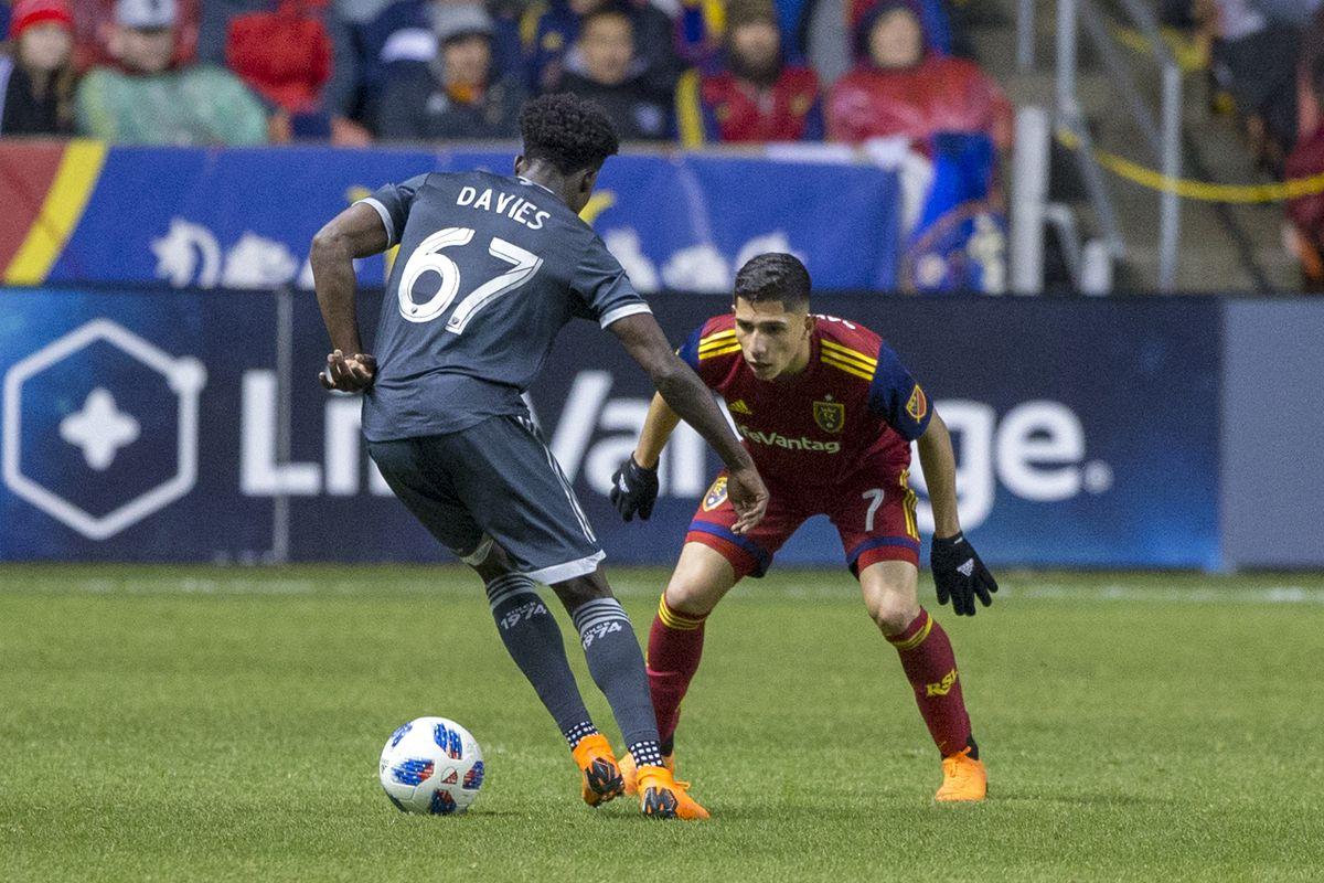 MLS: Vancouver Whitecaps at Real Salt Lake