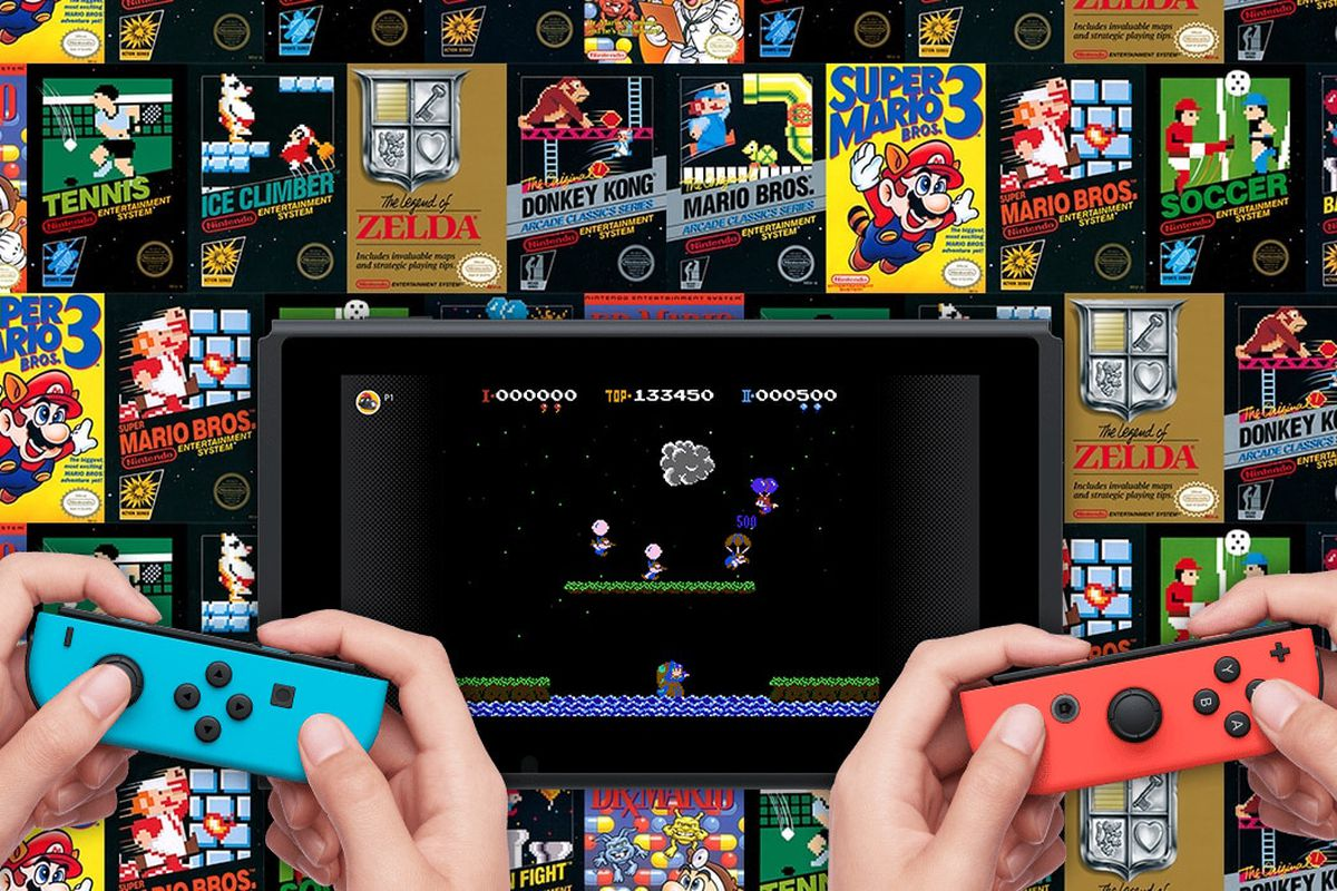 nintendo switch online service will launch with 20 nes games polygon