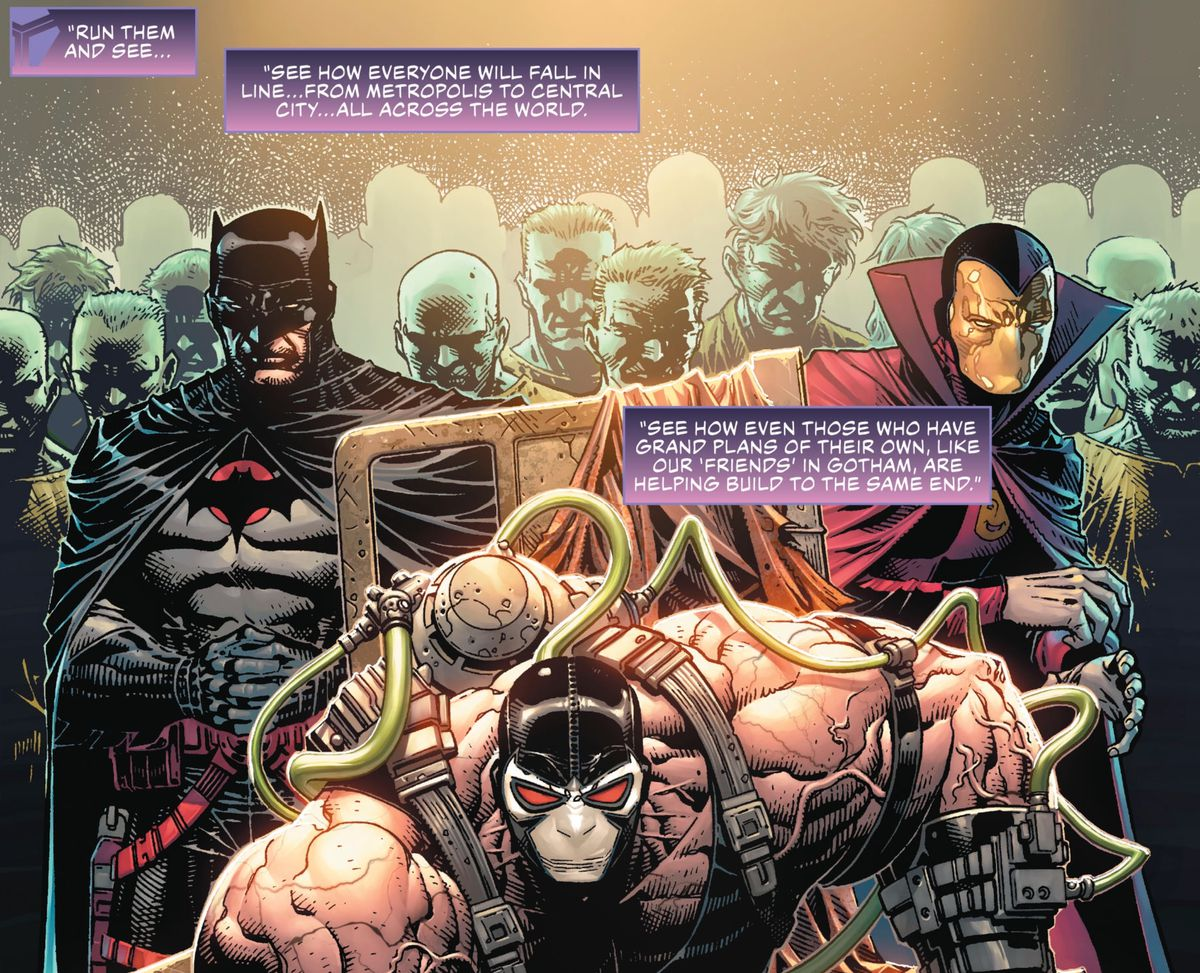 DC Comics Year of the Villain event, explained by Batman's