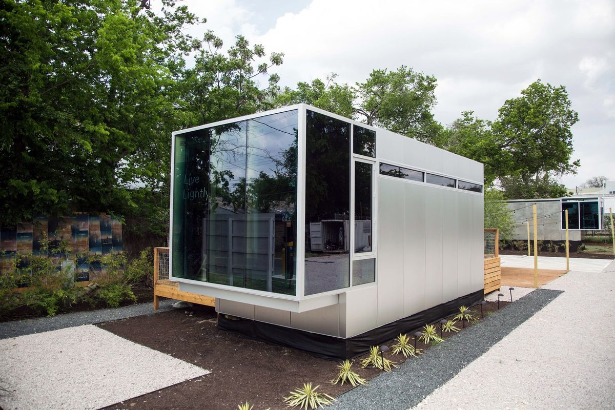Prefab curbed for Prefab homes austin