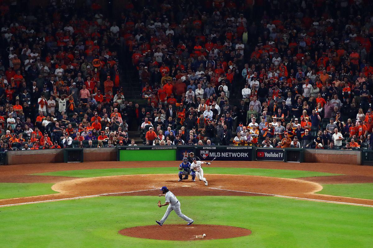 Houston Astro Alex Bregman hits a game-winning single