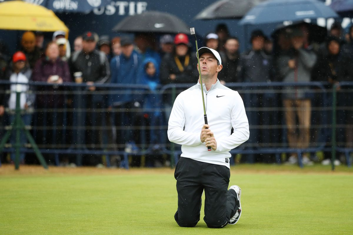 british open  tiger woods  rory mcilroy make moves while