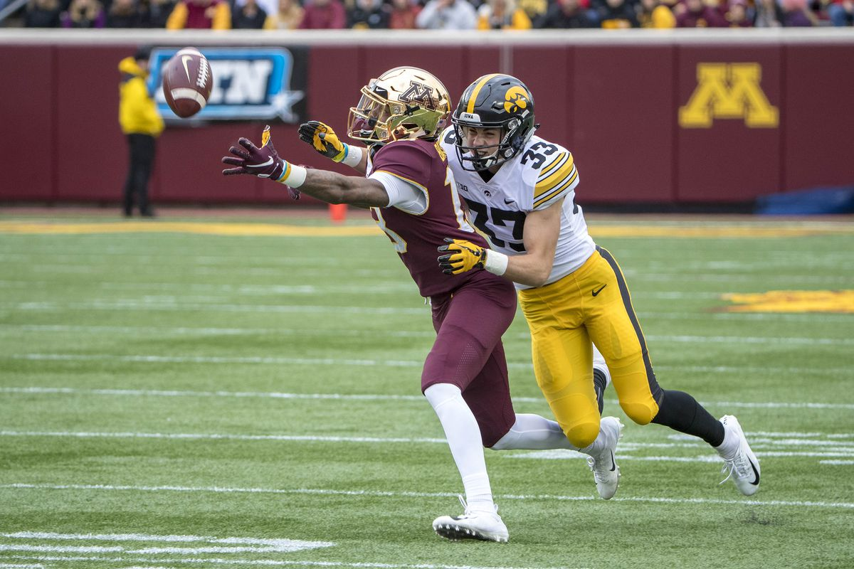 IOWA FOOTBALL RELEASES DEPTH CHART FOR INDIANA GAME ...