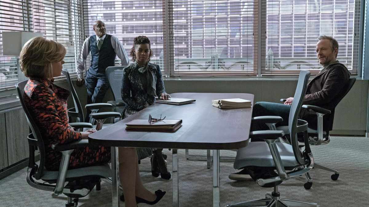 The Good Fight Is Trolling Trump With Pussy Bow Blouses Racked The good fight ensemble is undergoing another change for season two. trolling trump with pussy bow blouses