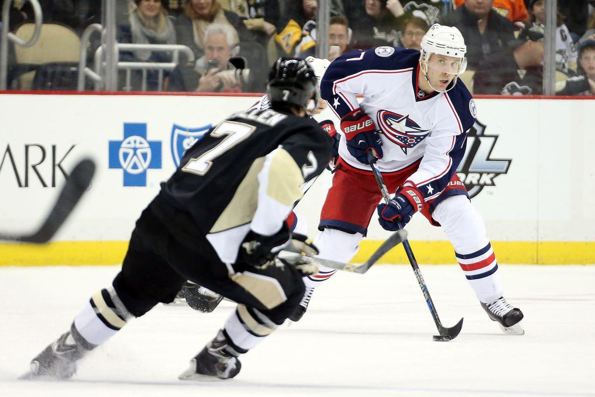 NHL: Columbus Blue Jackets at Pittsburgh Penguins