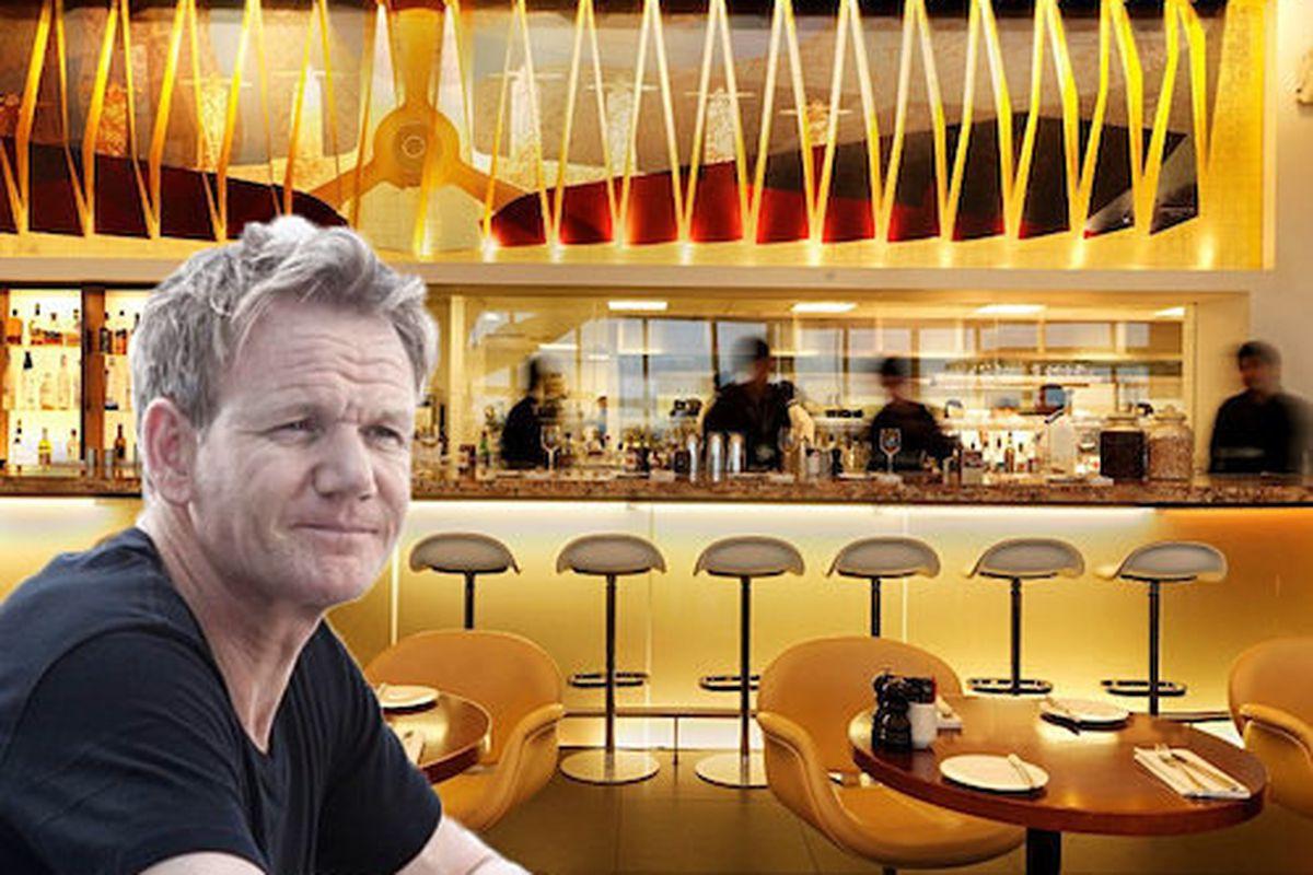 Gordon Ramsay, Plane Food.