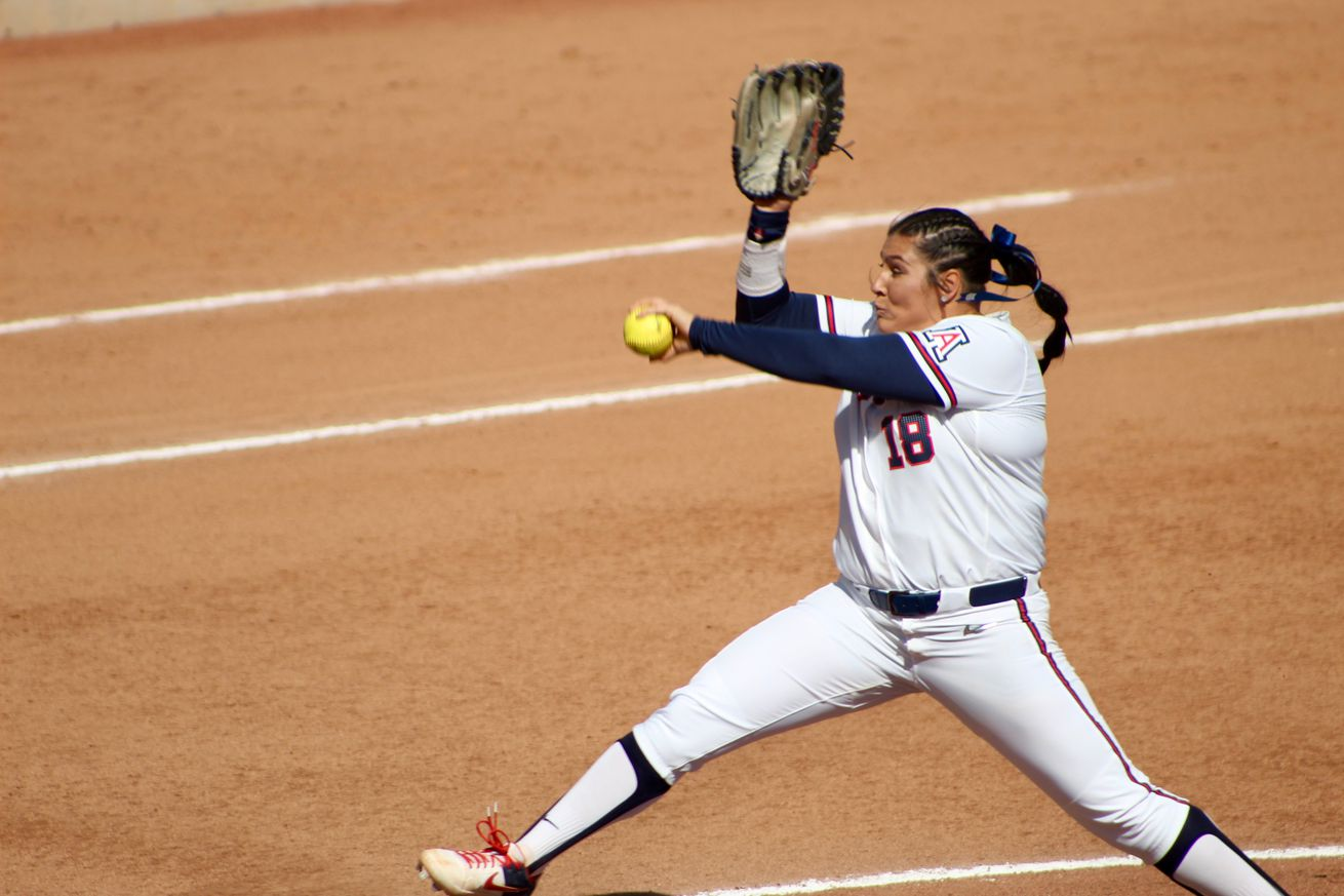 Arizona softball handles No. 20 Oklahoma State, Long Beach State in Mary Nutter Classic