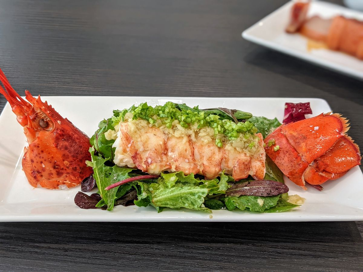 Cold lobster salad at Chef Tony.