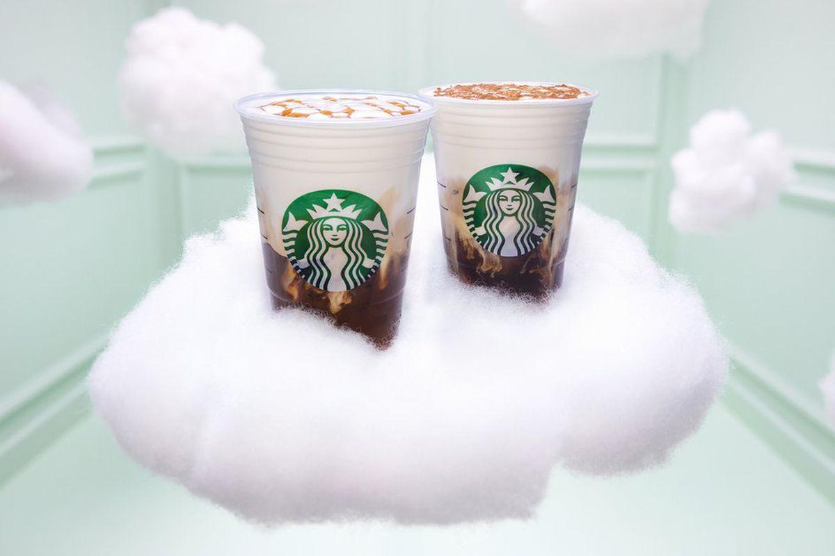 Ariana Grande is the face of new Starbucks Cloud Macchiato - Vox