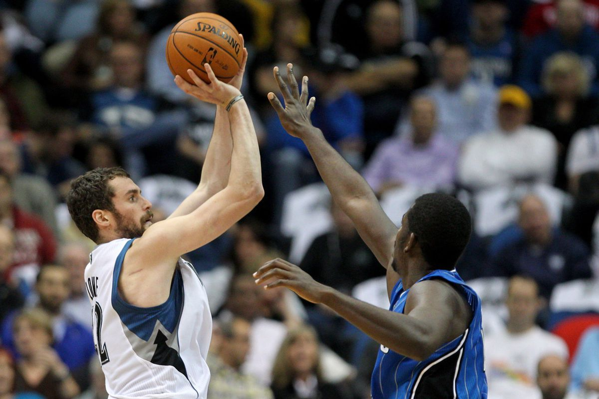 Kevin Love and Andrew Nicholson