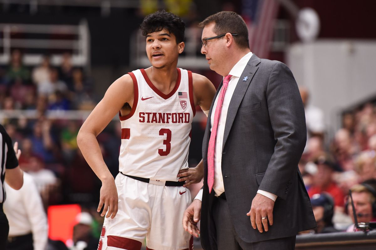 COLLEGE BASKETBALL: FEB 01 Oregon at Stanford