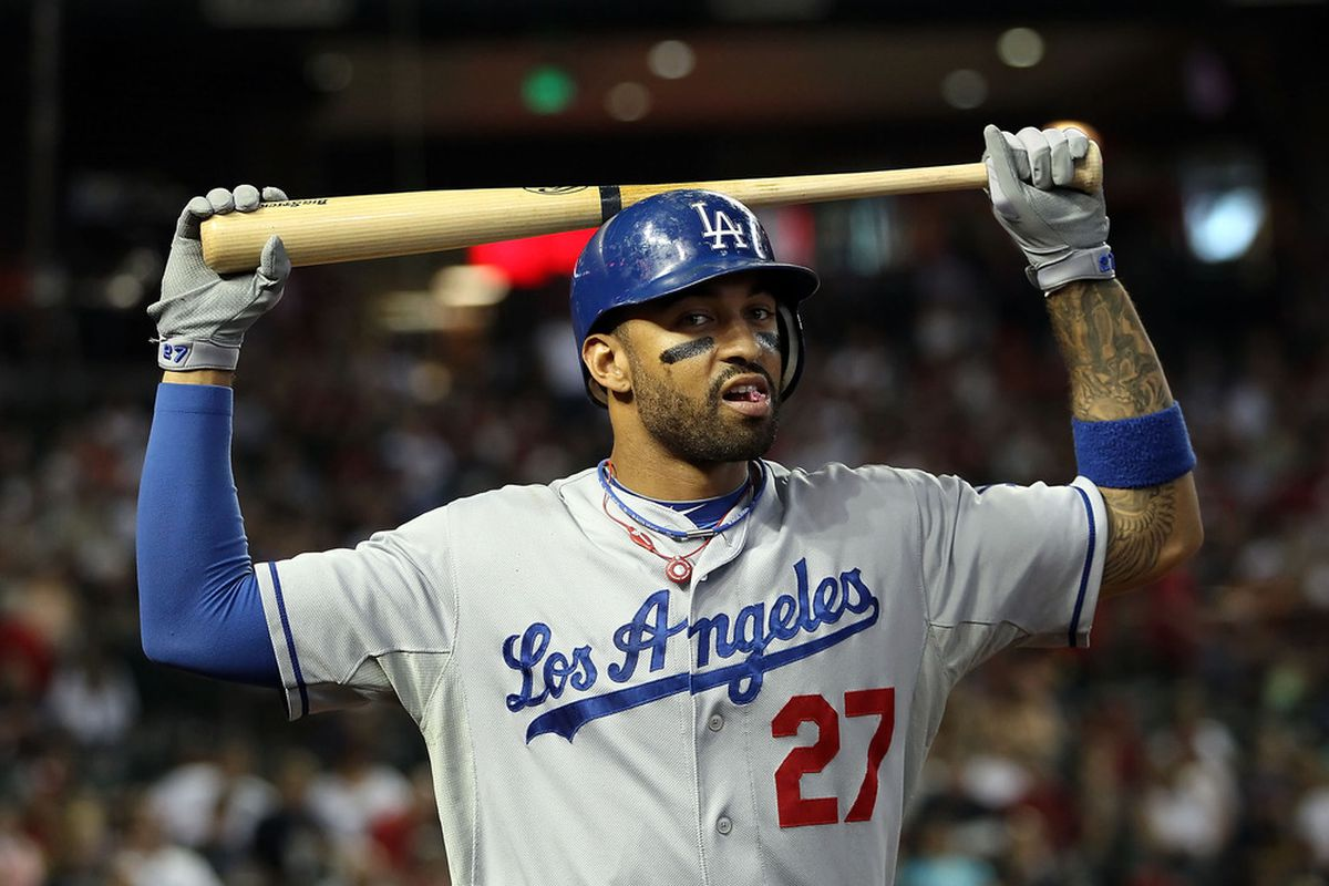 Matt Kemp hit two home runs in their three games this week, but there wasn't much other offense for the Dodgers.