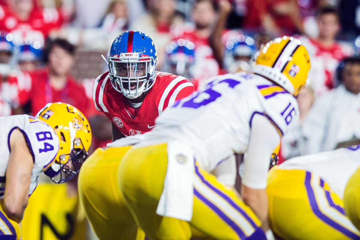 COLLEGE FOOTBALL: OCT 21 LSU at Ole Miss