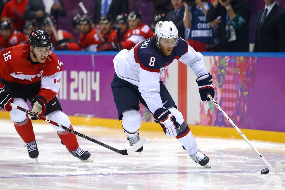 Ice Hockey - Winter Olympics Day 14 - United States v Canada