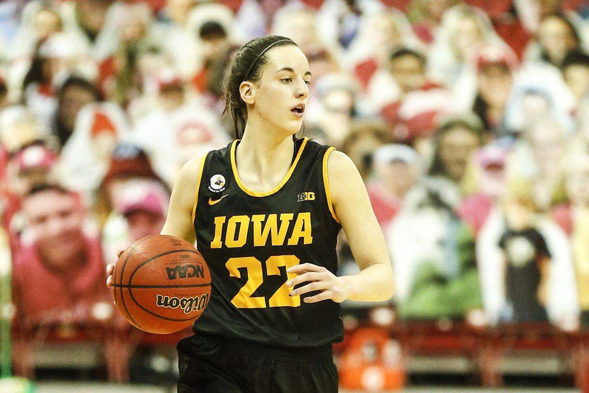 COLLEGE BASKETBALL: FEB 28 Women's Iowa at Wisconsin