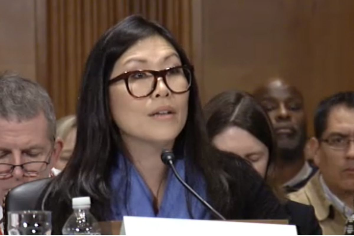 Earth School teacher Jia Lee is running for New York lt. governor. An advocate against high-stakes testing, she spoke about the issue in 2015 before the U.S. Senate Health, Education, Labor and Pensions Committee.