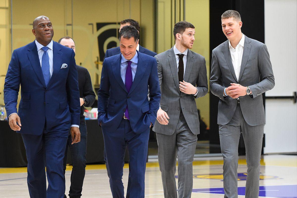 Los Angeles Lakers Introduce 2018 Draft Picks