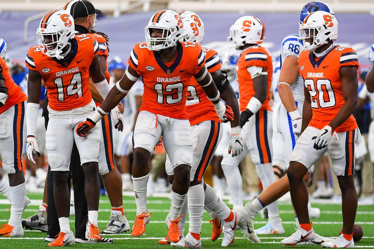 NCAA Football: Duke at Syracuse