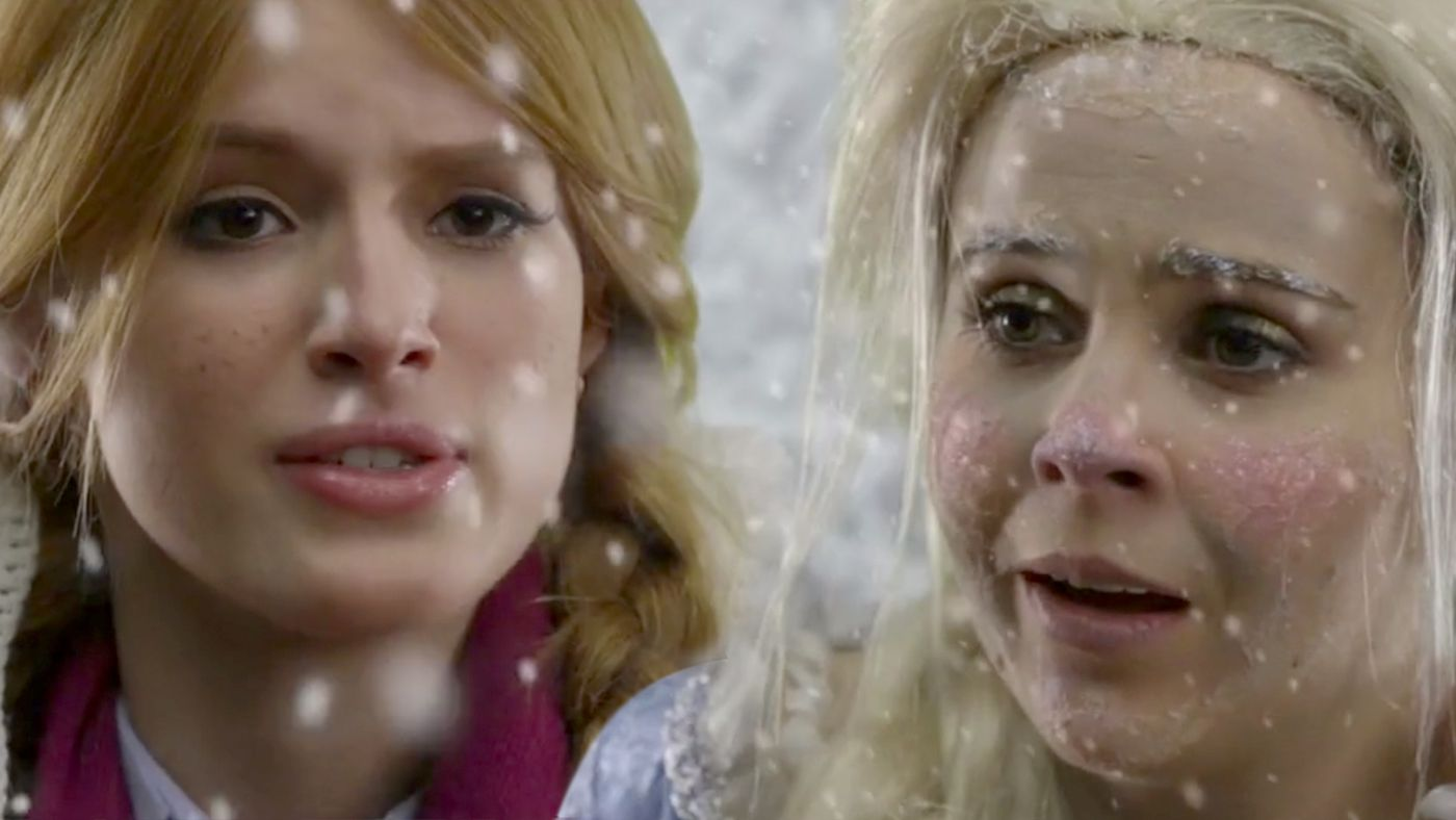 Live Action Frozen with Bella Thorne and Mae Whitman