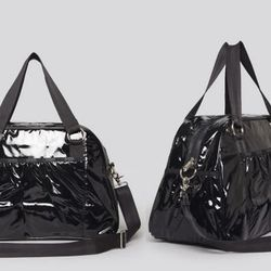"""<b>Natalie Alcala, <a href=""""http://la.racked.com"""">Racked Los Angeles</a> editor:</b> """"I'm with Susie re: <b>LeSportsac</b>. I've had their black PVC <a href=""""http://www1.bloomingdales.com/shop/product/lesportsac-weekender-abbey-carry-on?ID=689344&PartnerI"""
