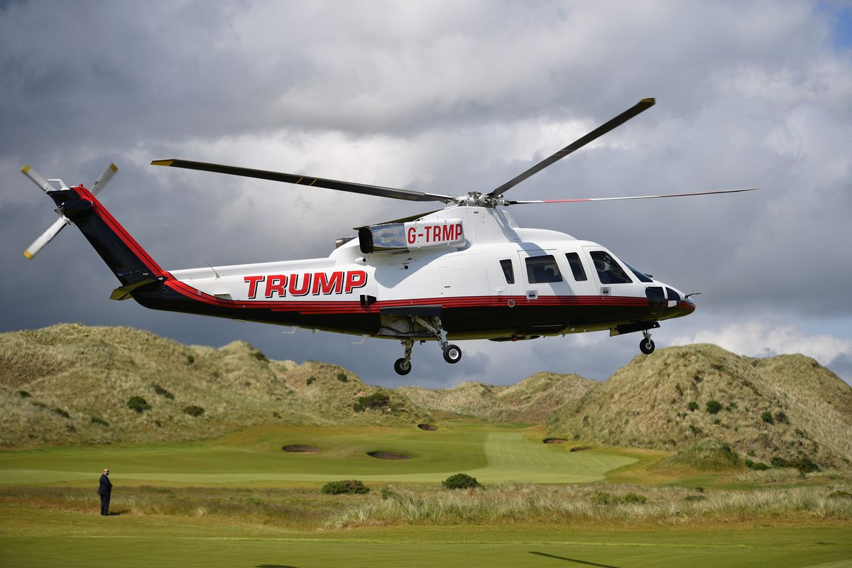 How Much Time Has Trump Spent Golfing During His Presidency?