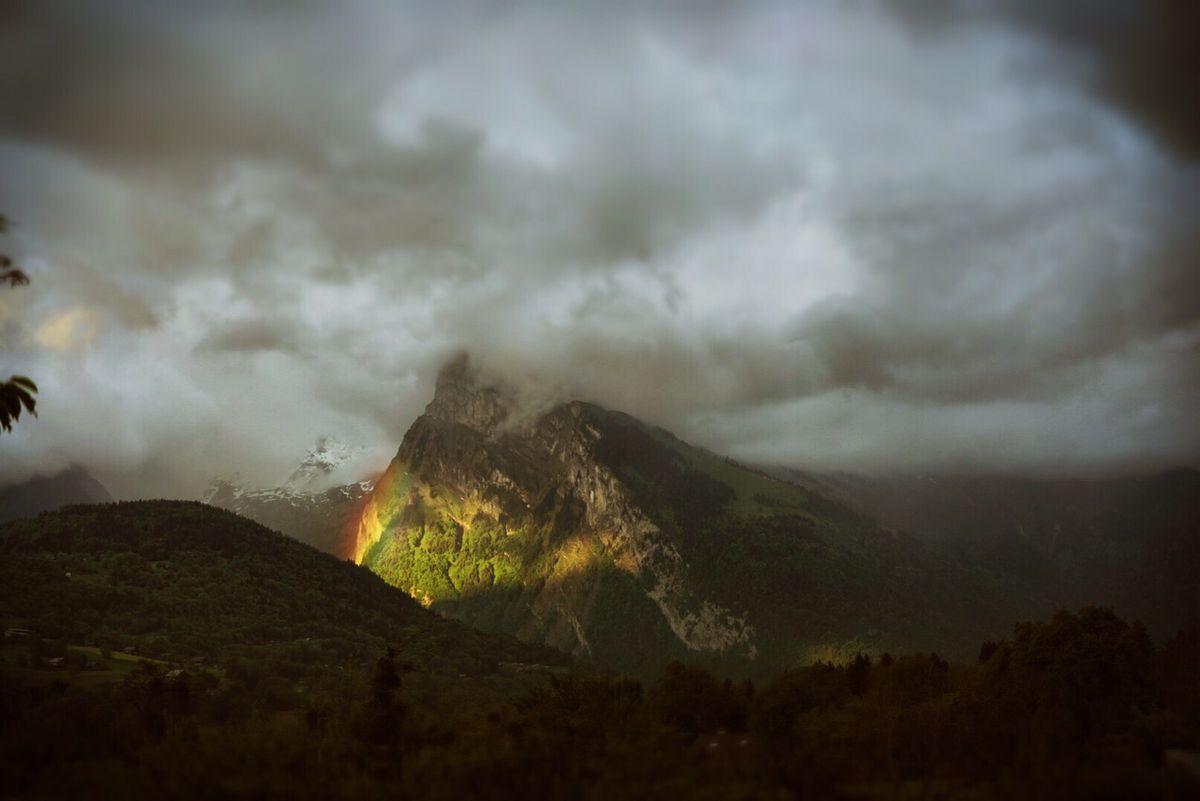 Birth of a Rainbow by Haje Jan Kamps