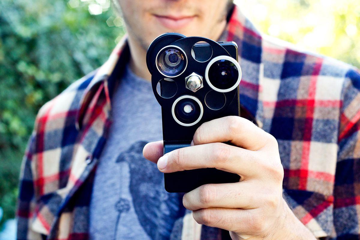 Photojojo iphone tri lens