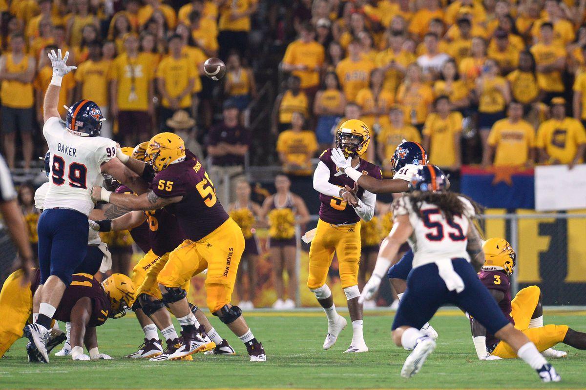 NCAA Football: Texas-San Antonio at Arizona State