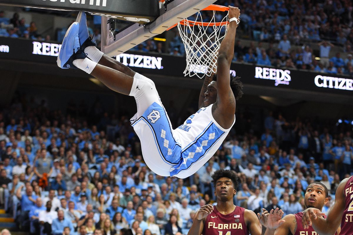 4fcb6cdab37 Bob Donnan-USA TODAY Sports. UNC freshman forward Nassir Little turned in  one of his best performances ...