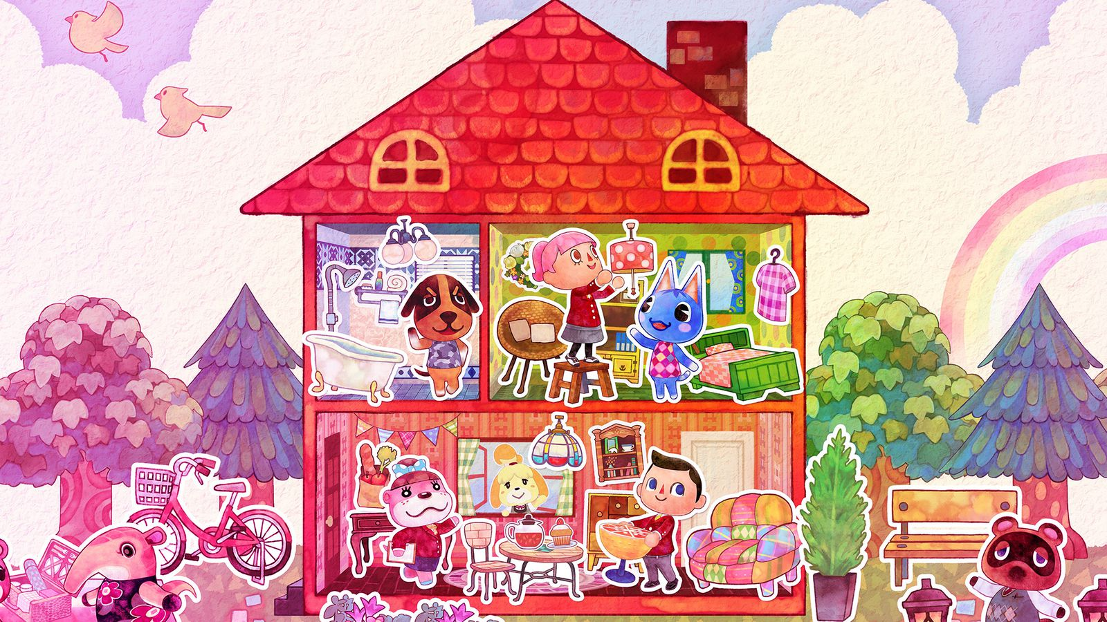 Home Design: Animal Crossing: Happy Home Designer Review: Playing House
