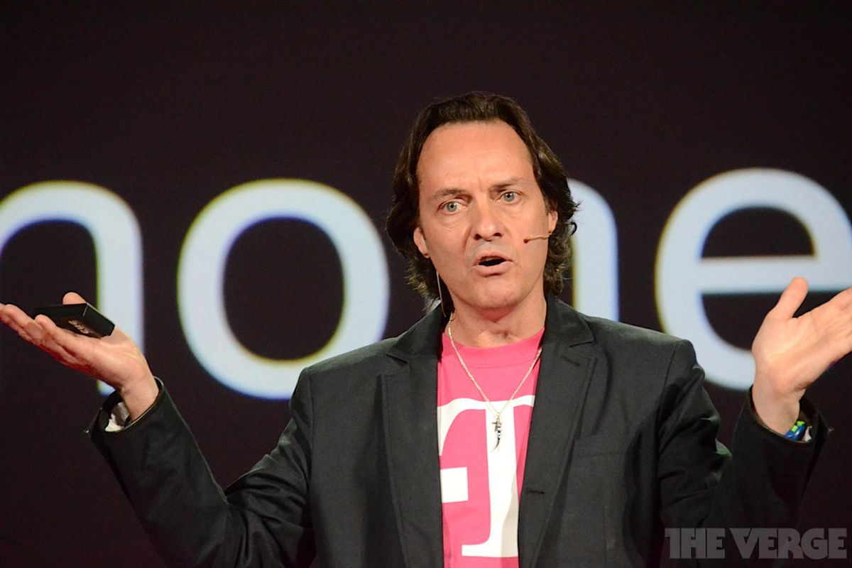 """T-Mobile CEO John Legere - """"Really don't care"""""""