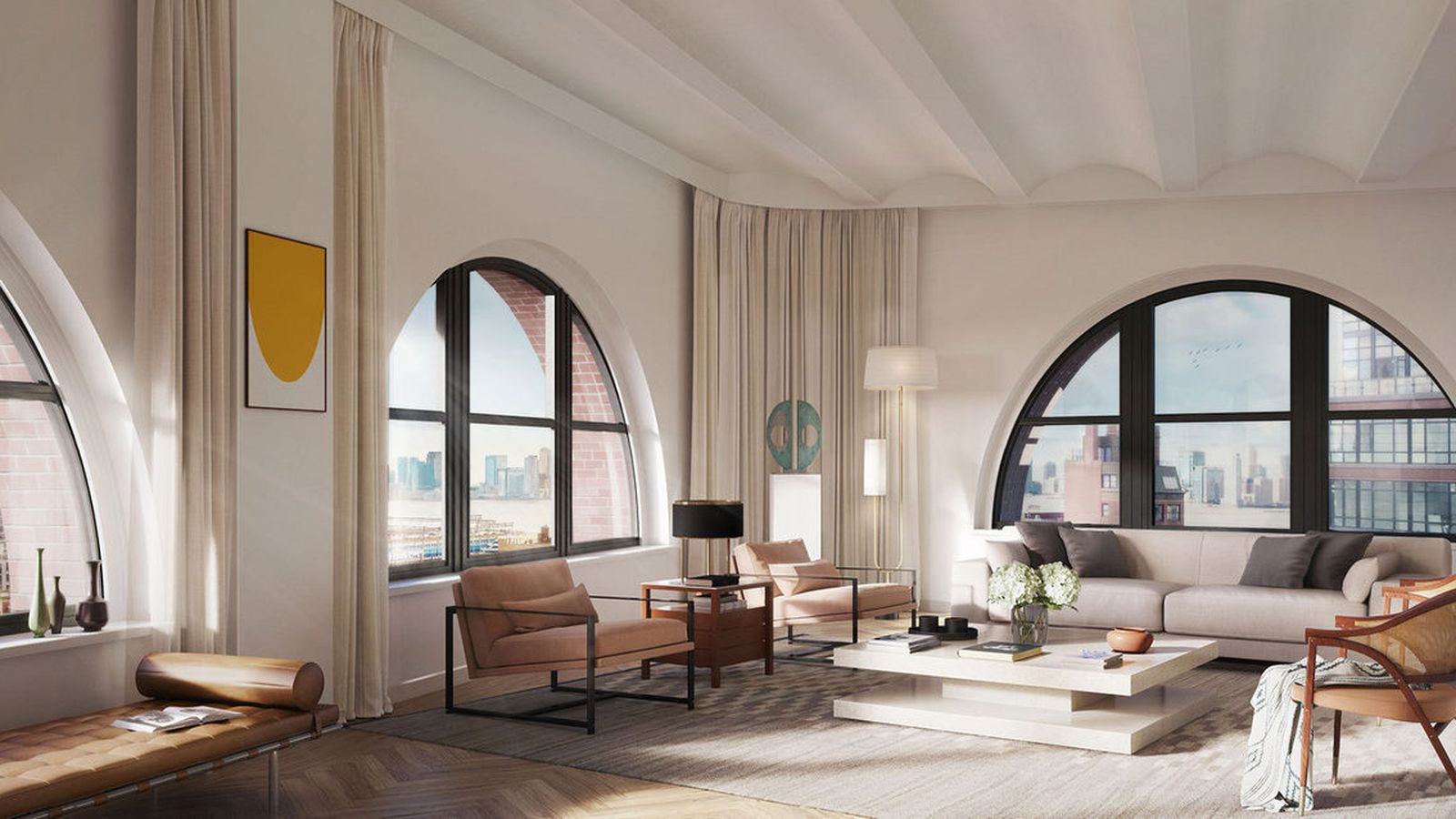 New York Apartment Interior Luxury
